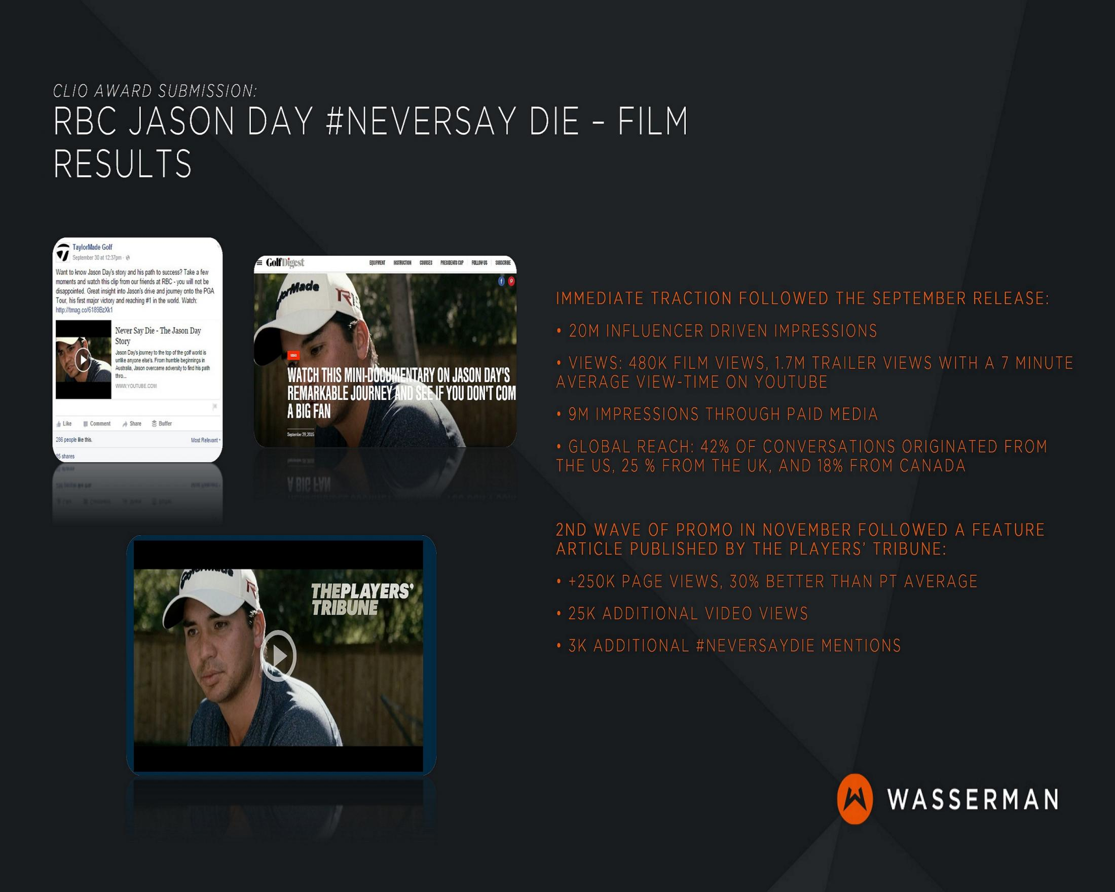 Thumbnail for Jason Day - Never Say Die