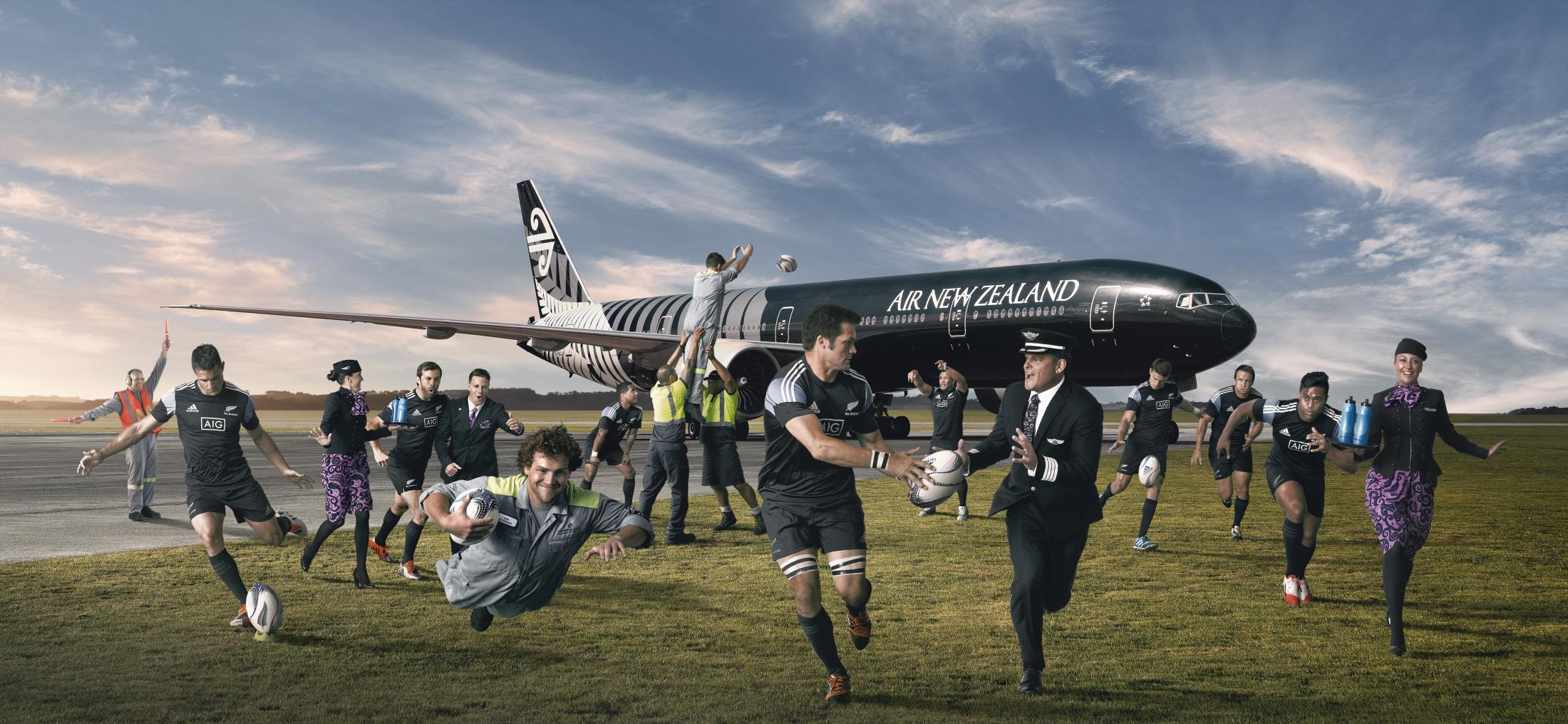 Air New Zealand - Fight Song - YouTube