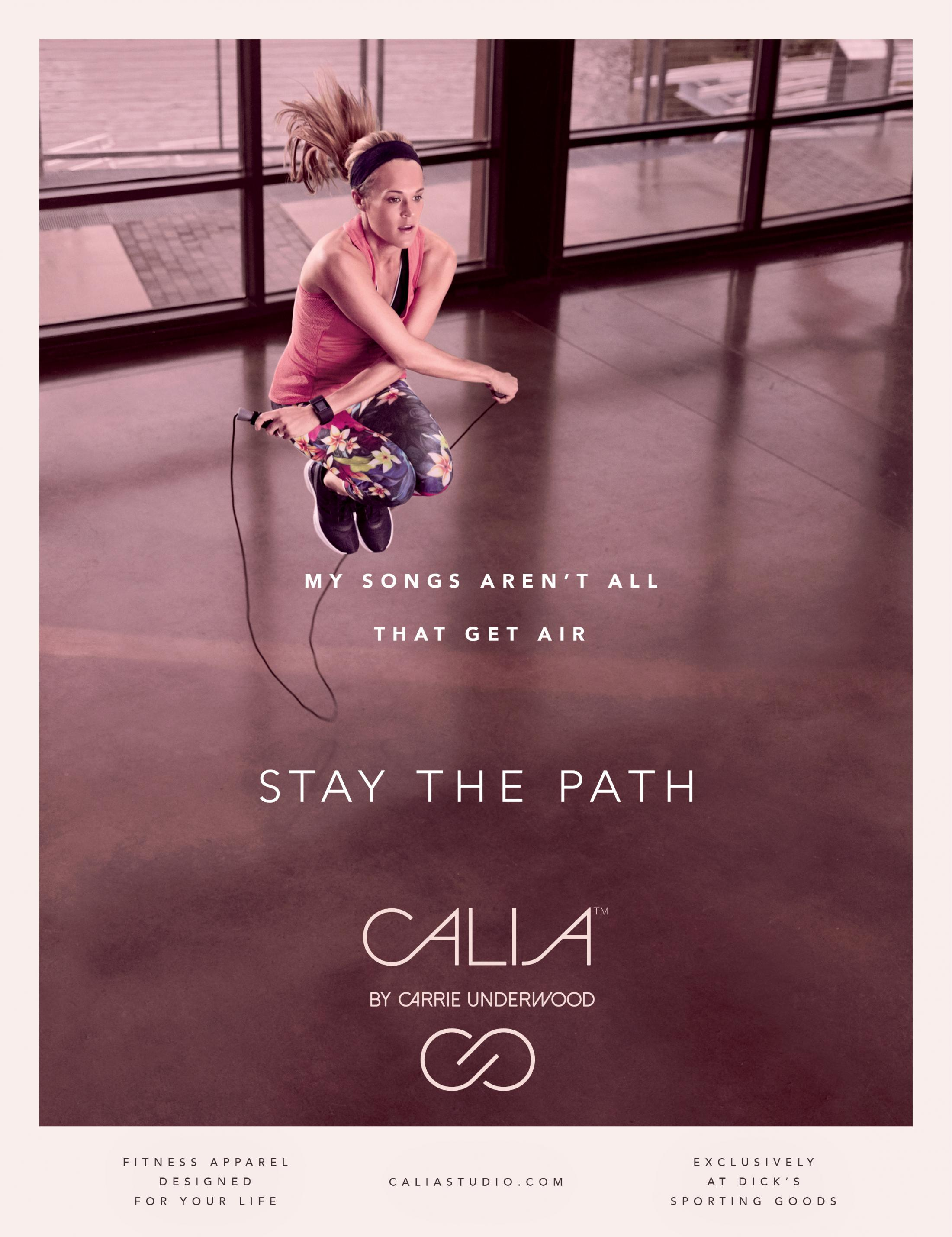 Thumbnail for CALIA by Carrie Underwood - Stay The Path
