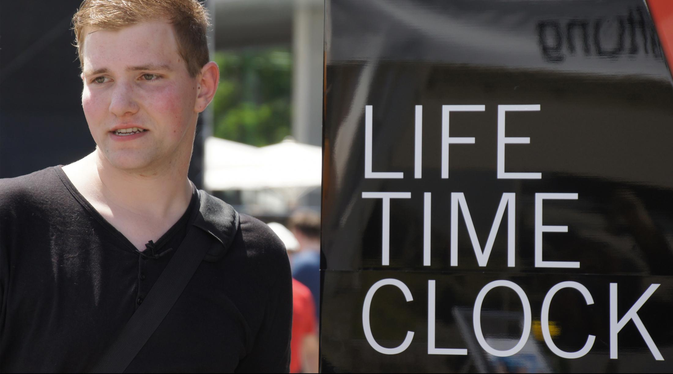 Image Media for Life Time Clock