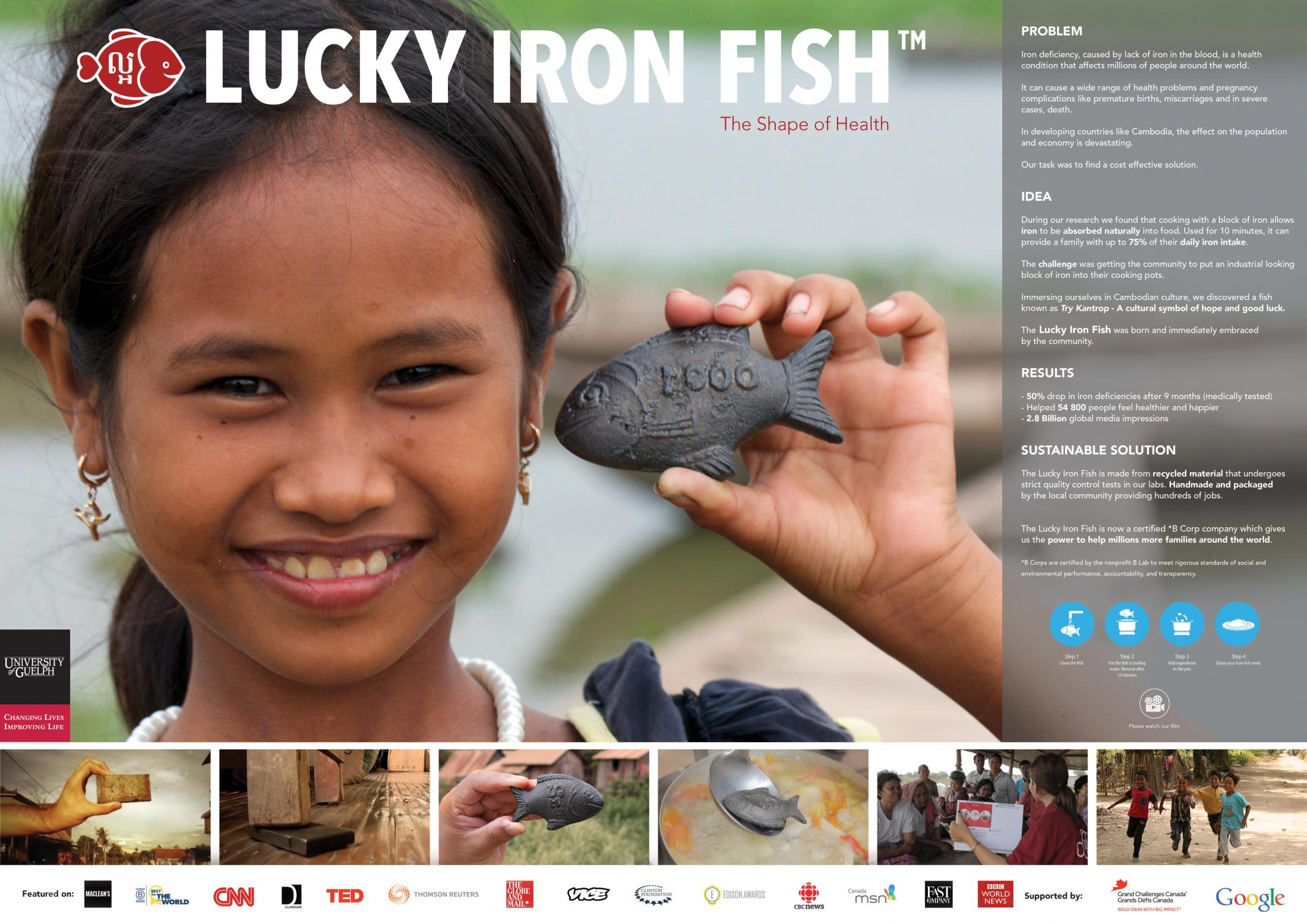 Thumbnail for The Lucky Iron Fish Project