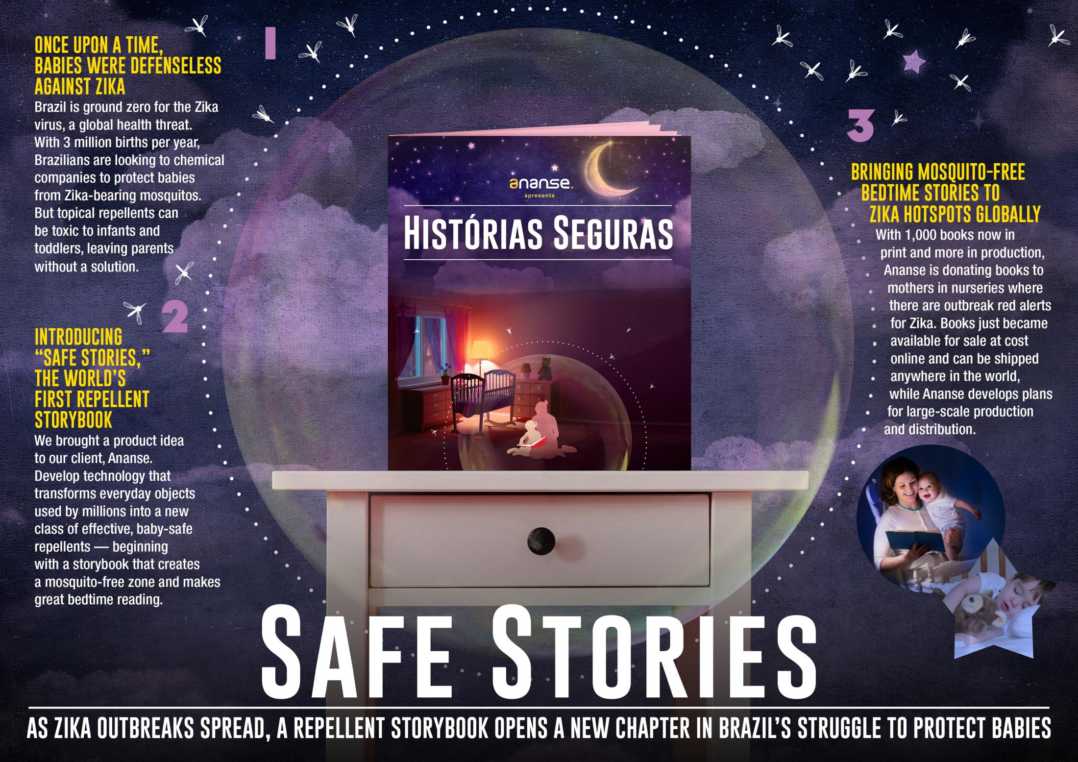 Image Media for Safe Stories: Turning a Page on Zika