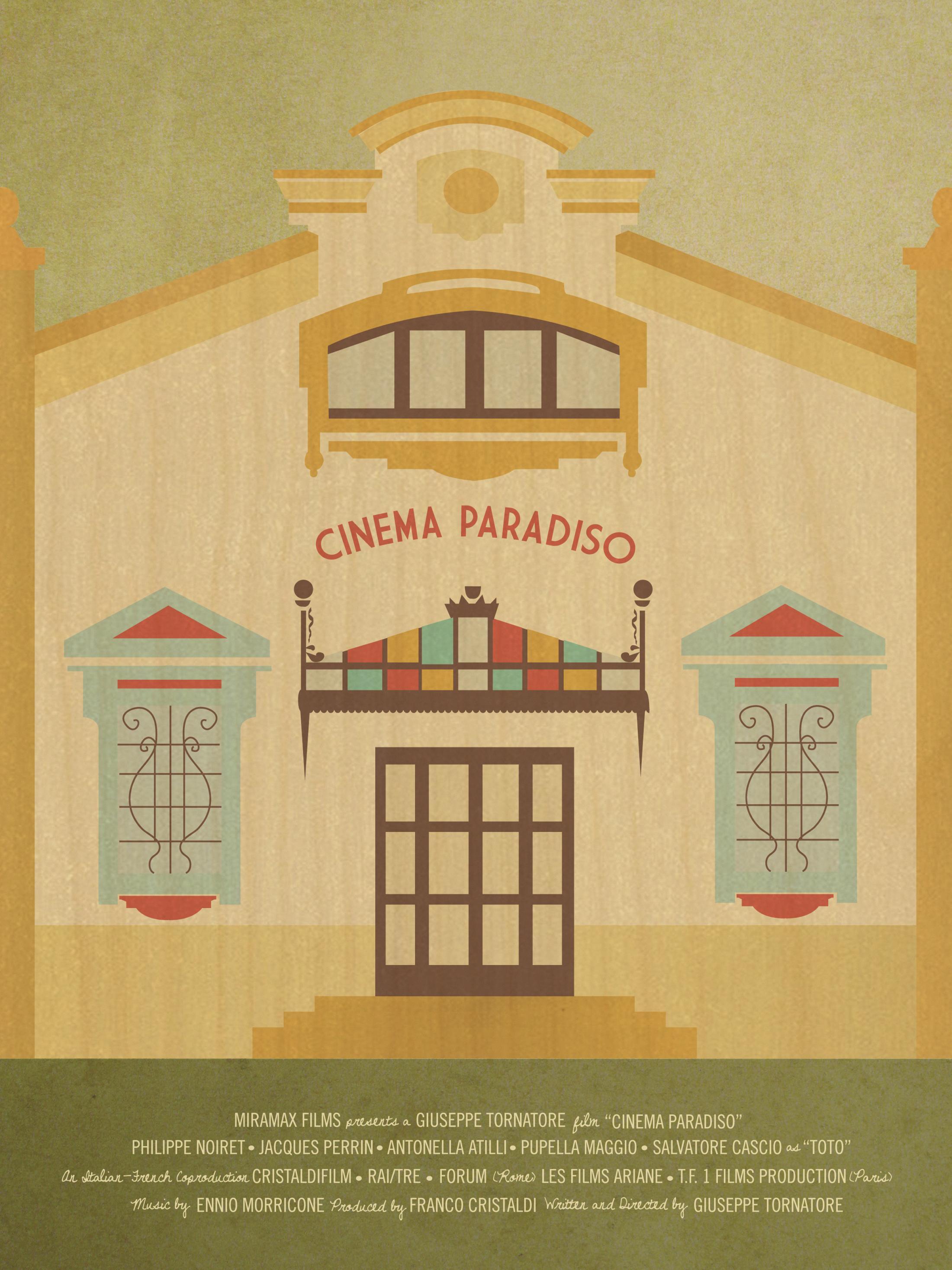 cinema paradiso movie poster clios