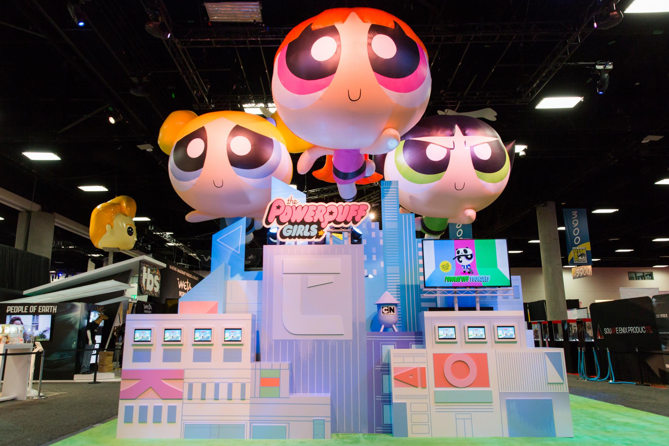 cartoon network powerpuff girls avatar maker san diego comic con