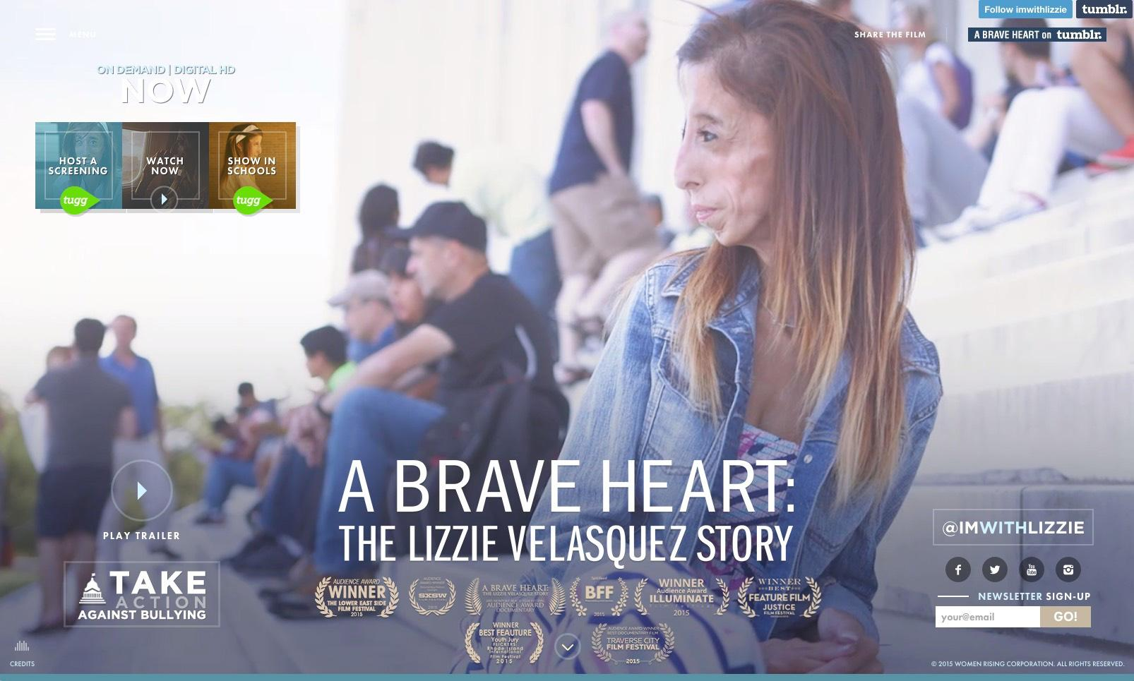 Thumbnail for I'm With Lizzie : Tumblr Social Initiative on Anti-Bullying