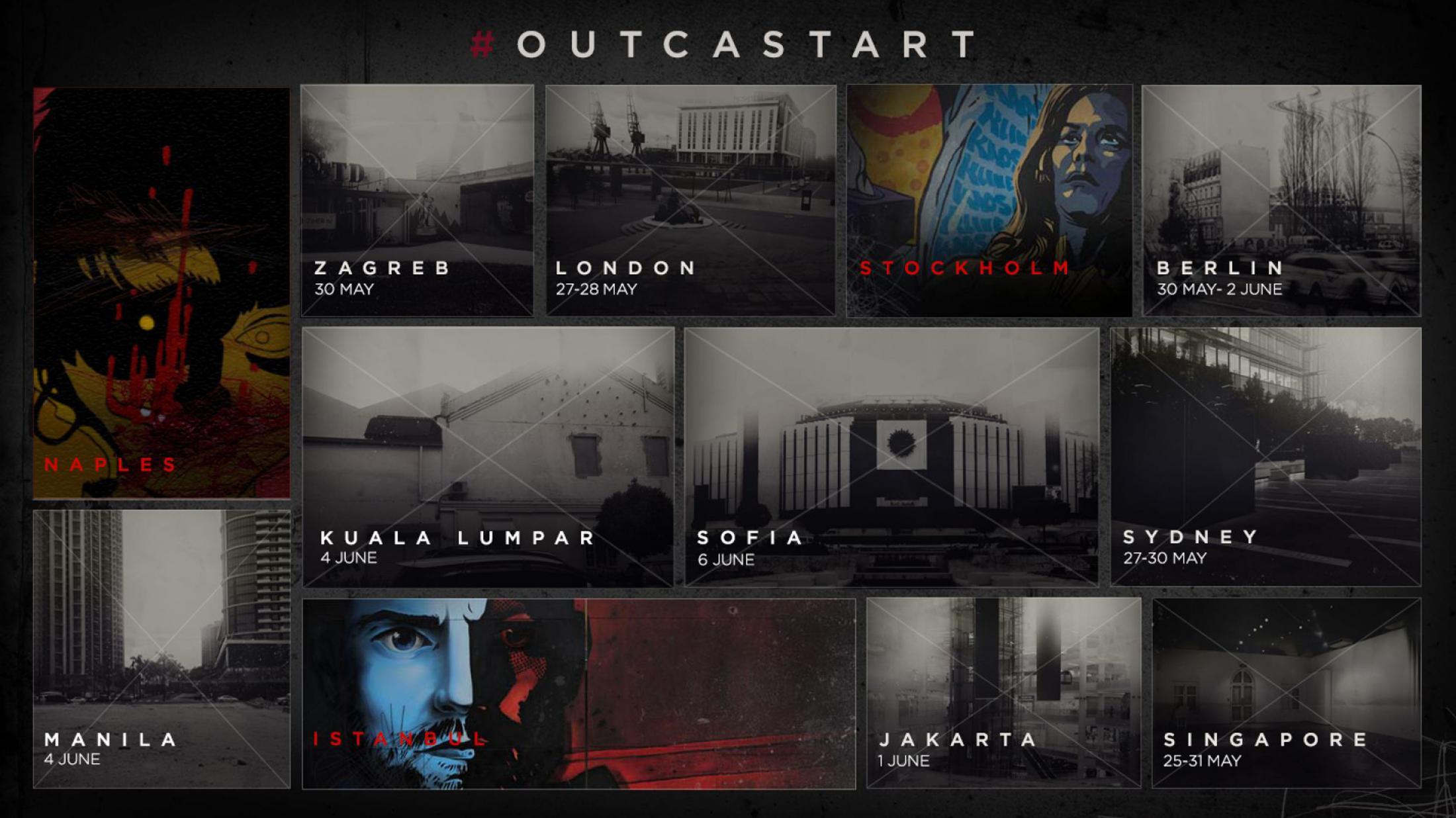 Image Media for Outcast Art