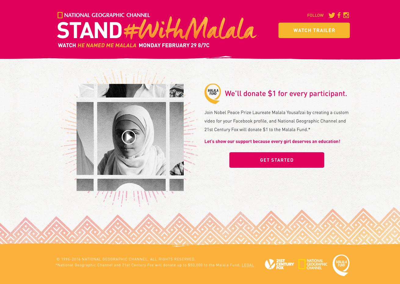 Thumbnail for Stand with Malala