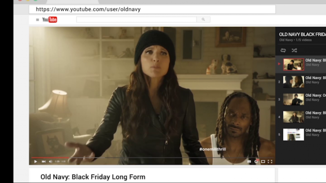 Thumbnail for Old Navy: Black Friday Integrated Campaign