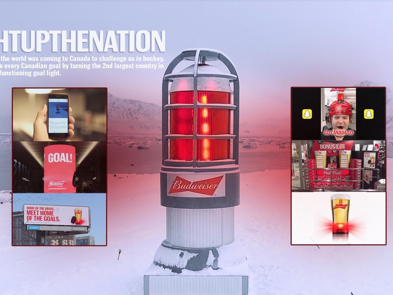 Budweiser #LightUpTheNation Thumbnail