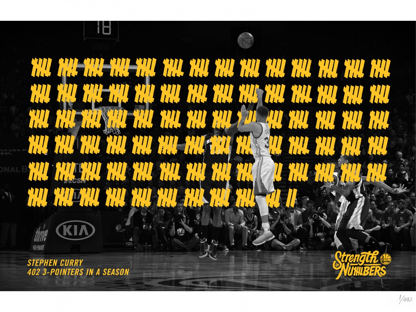 Stephen Curry 402 3-Pointers In A Season  Thumbnail