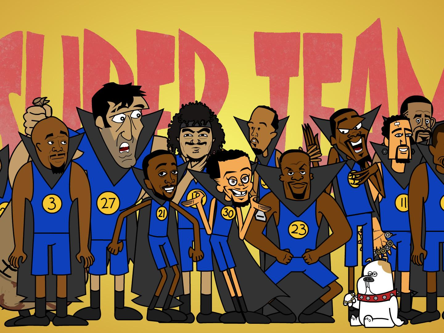 Super Team: A Warriors Musical Thumbnail