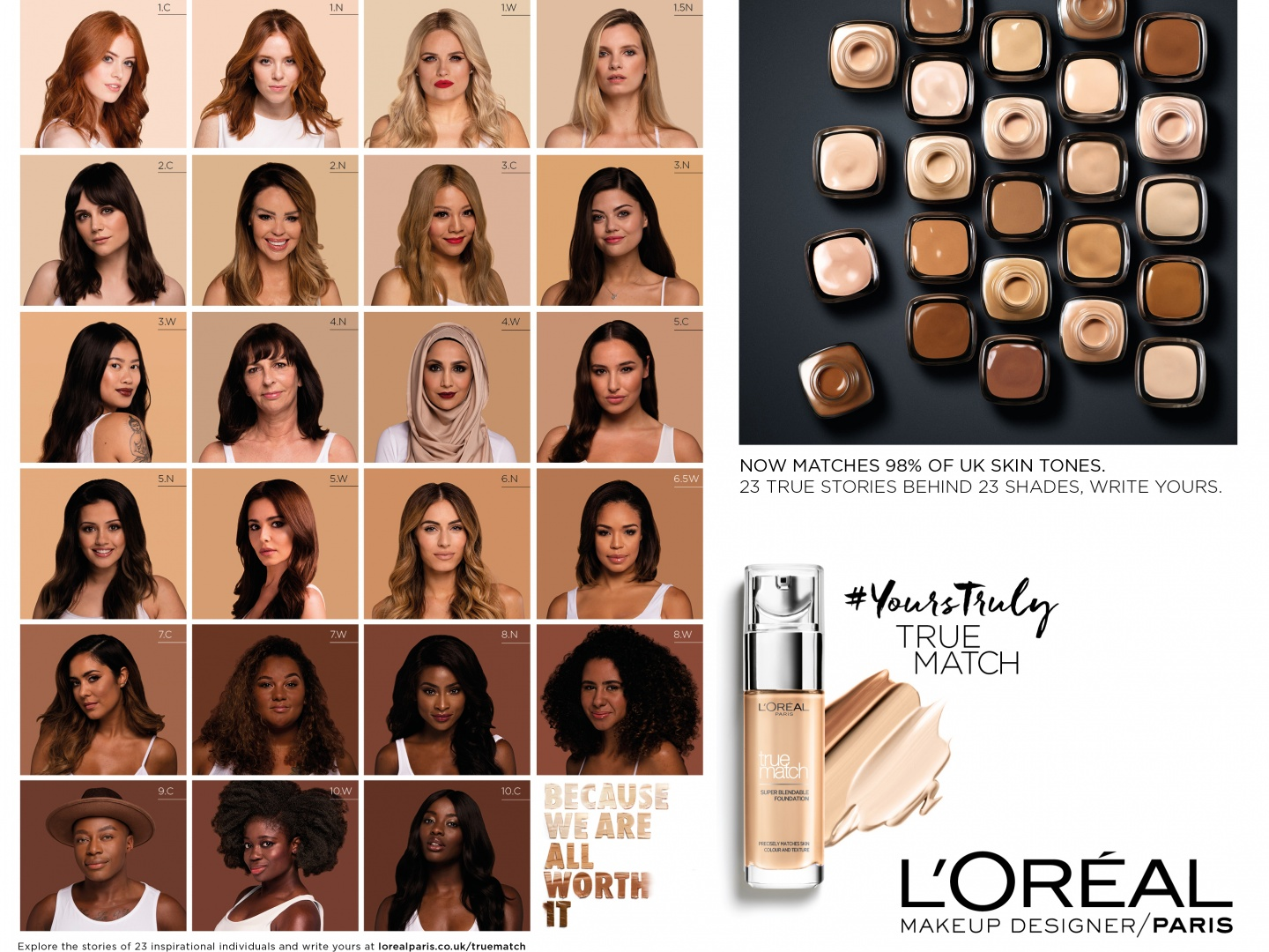 True Match: 23 shades, 23 stories Thumbnail