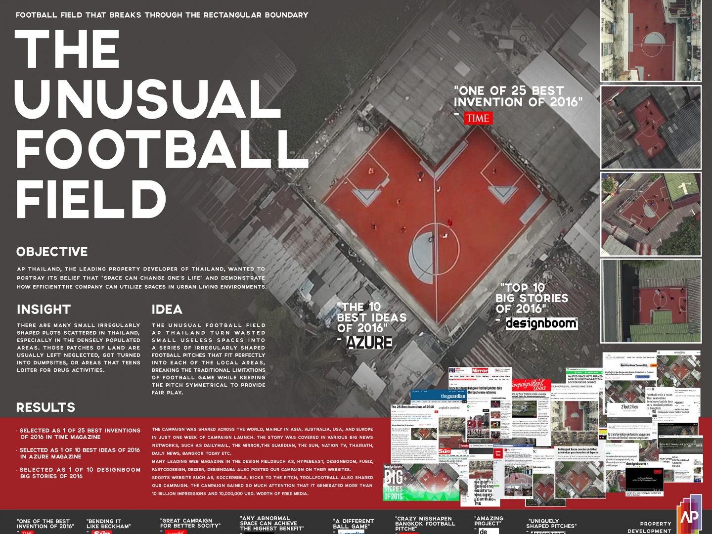 The Unusual Football Field Project Thumbnail