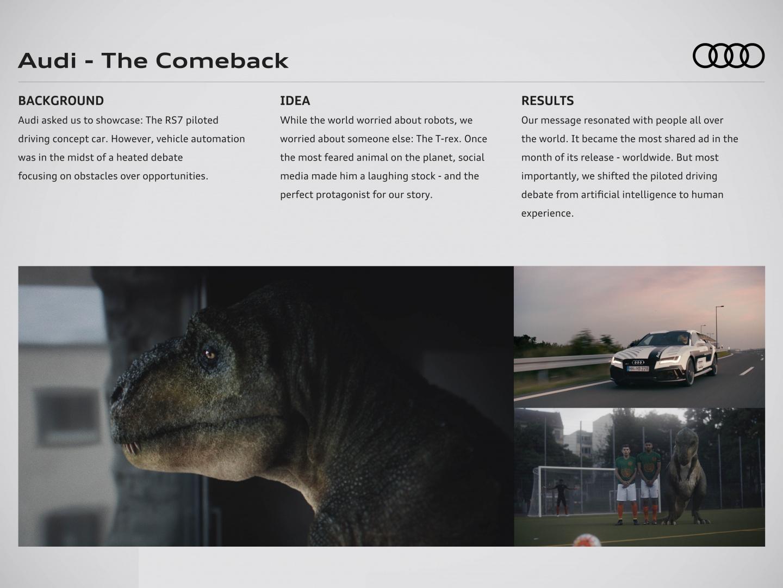 Audi - The Comeback Thumbnail