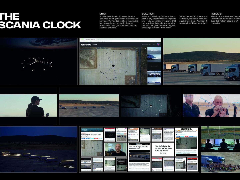 The Scania Clock Thumbnail