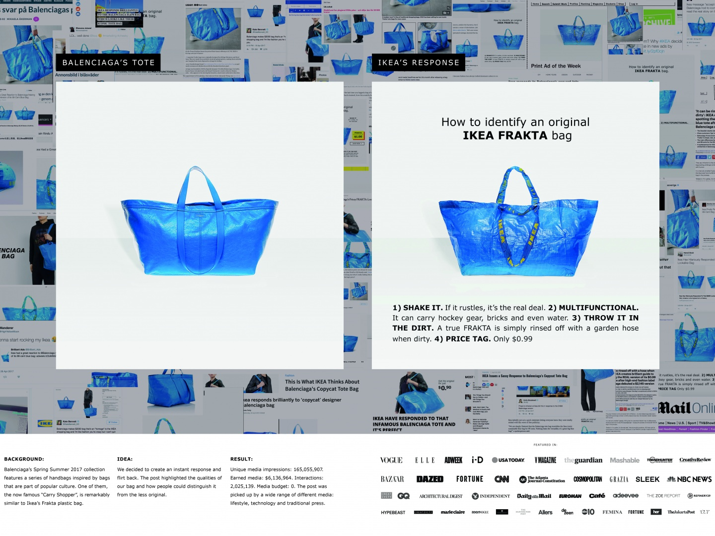 Ikea Responds to Balenciaga Thumbnail