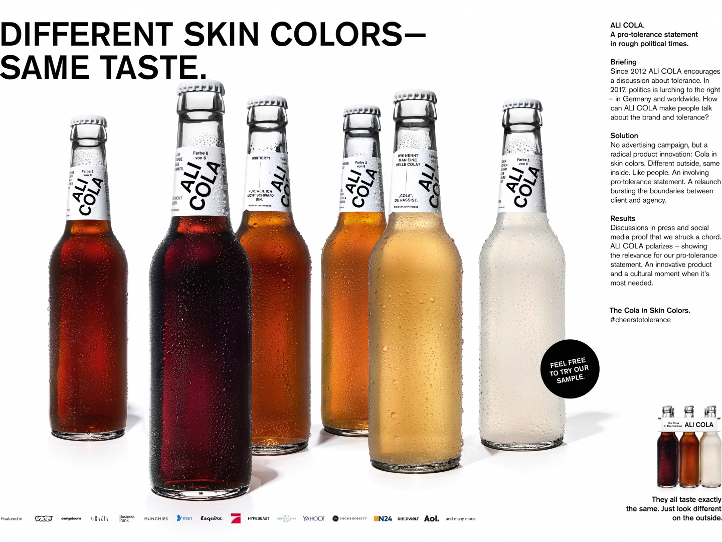 ALI COLA. The Cola In Skin Colors. Thumbnail