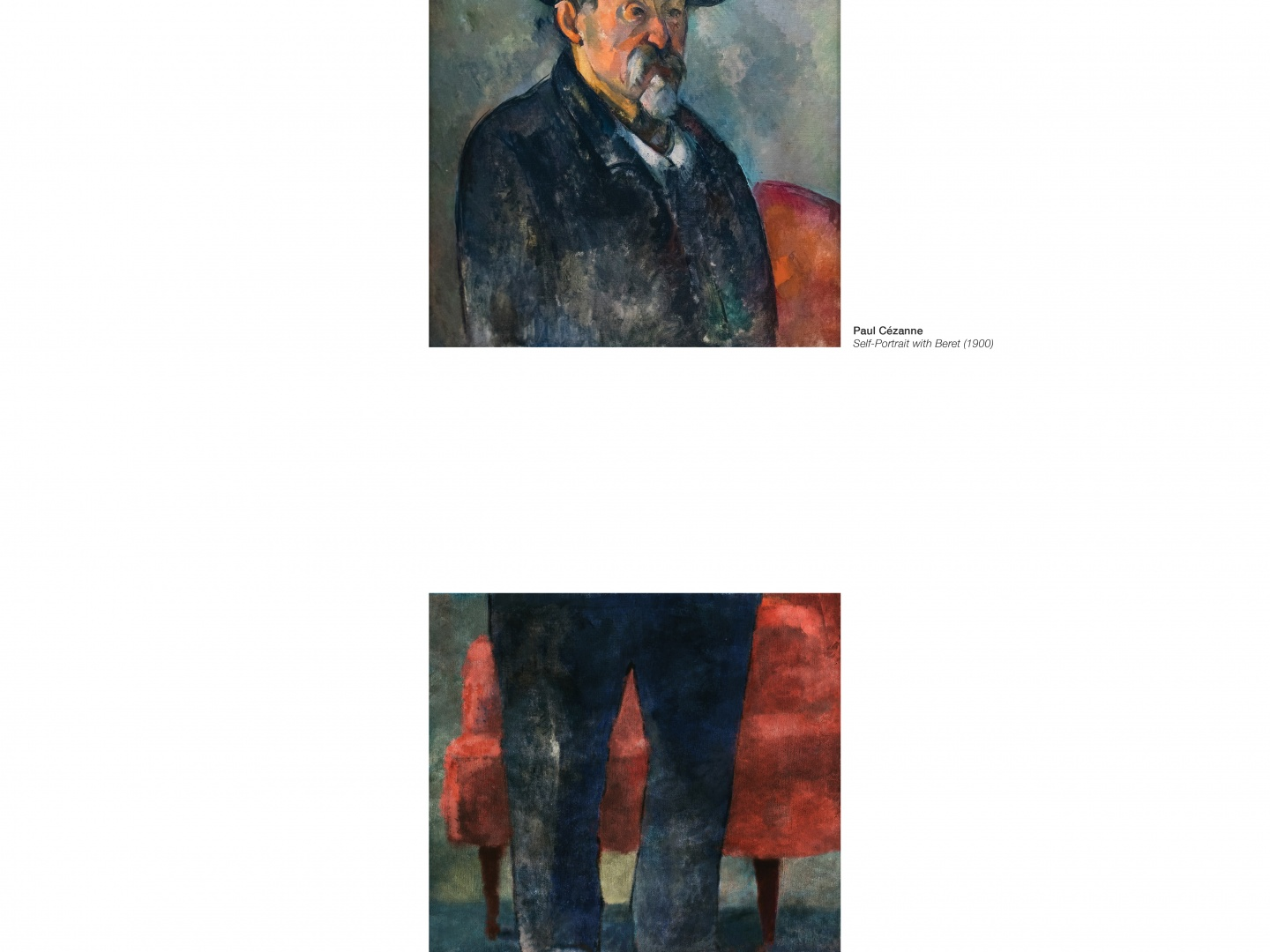 Image for Portraits Completed Out of Home: Cezanne