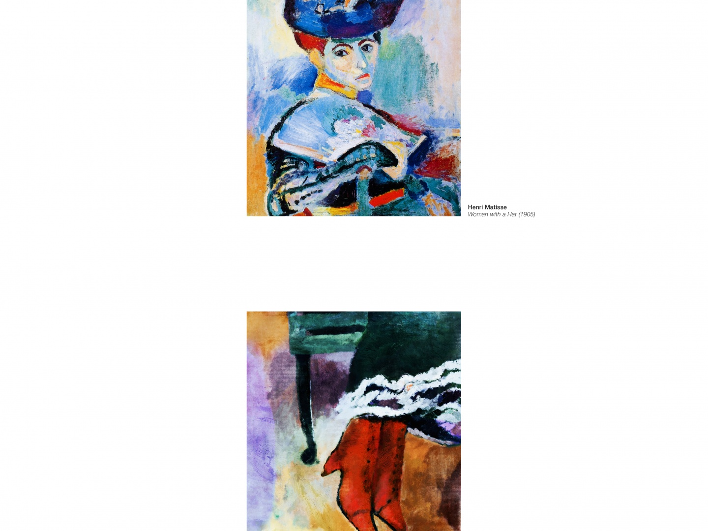 Image for Portraits Completed Out of Home: Matisse