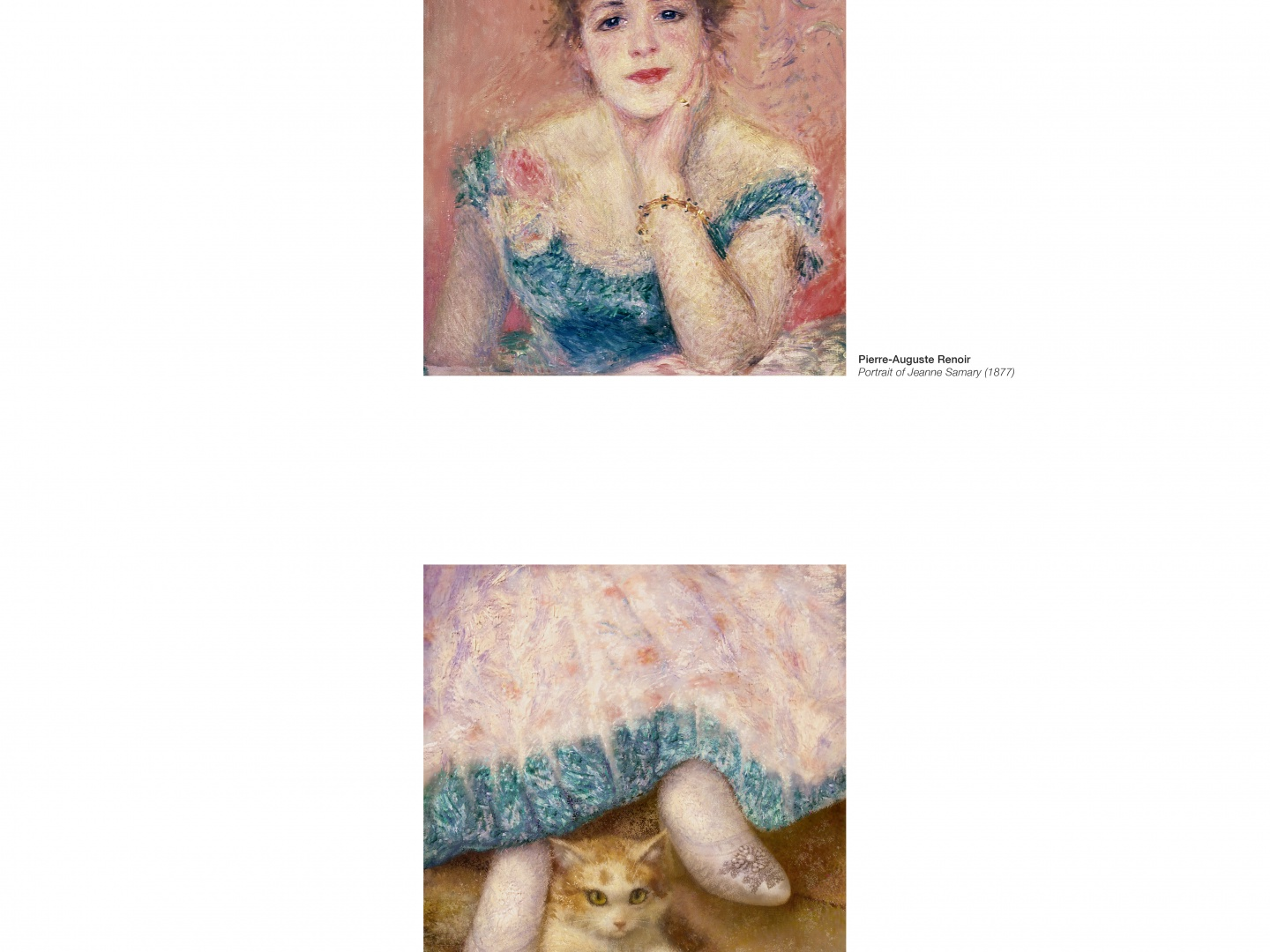 Image for Portraits Completed Out of Home: Renoir