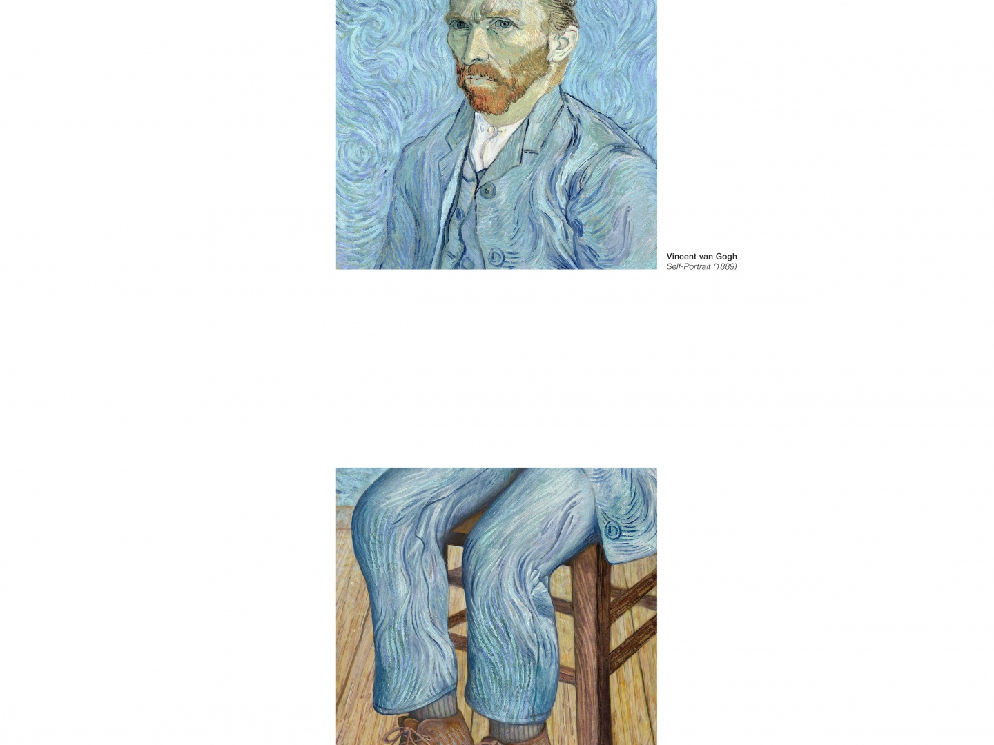 Image for Portraits Completed Out of Home: Van Gogh