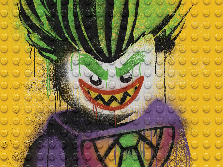 Image for The LEGO Batman Movie - Graffiti Wild Postings | The Joker