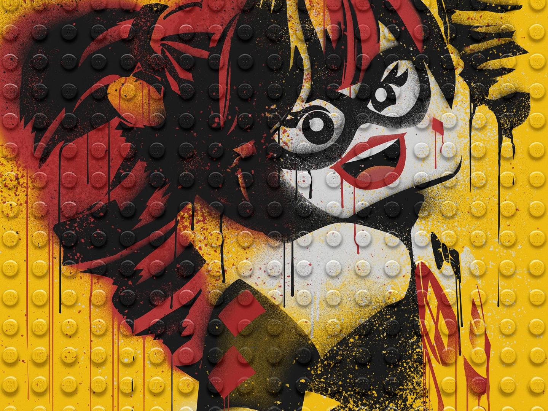 Image for The LEGO Batman Movie - Graffiti Wild Postings | Harley Quinn