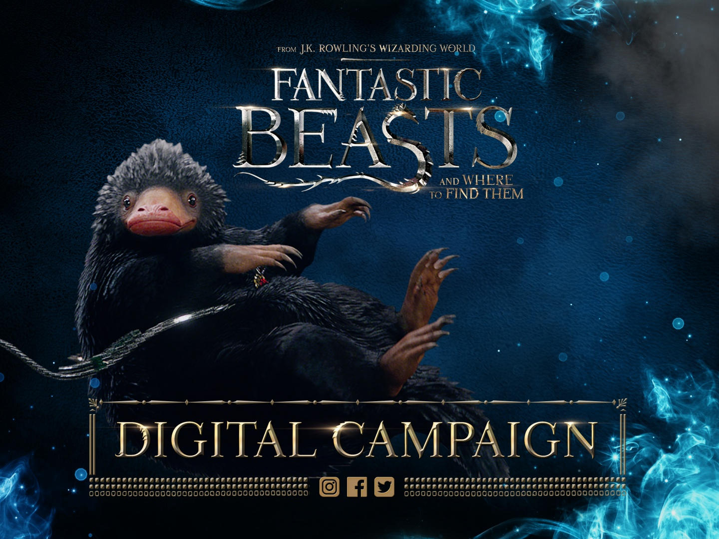 Fantastic Beasts Digital Campaign Thumbnail