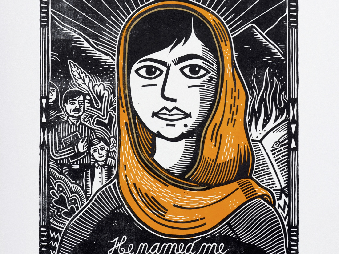 Image for He Named Me Malala 1