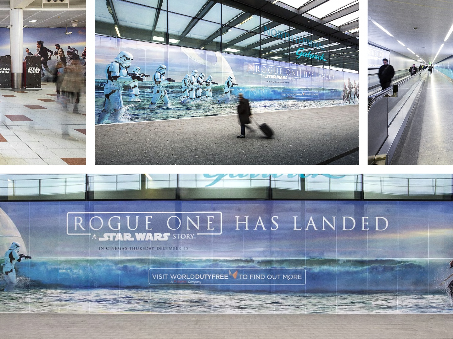 Rogue One: A Star Wars Story - Gatwick Airport Terminal Takeover Thumbnail