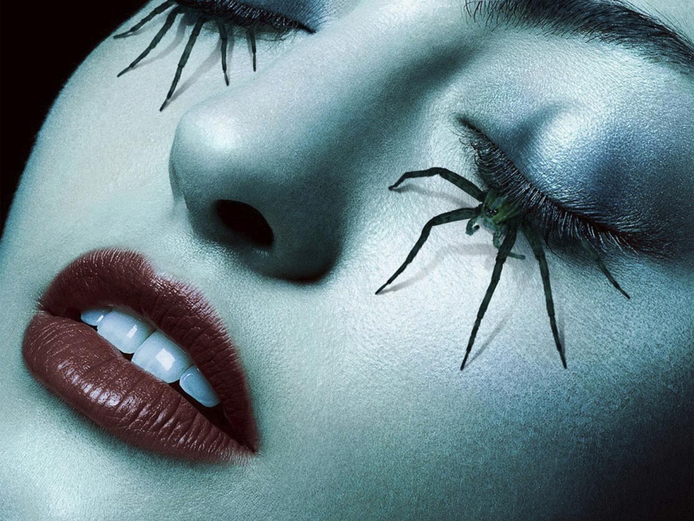 American Horror Story - Roanoke teaser bus shelter (spider lashes) Thumbnail