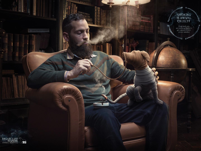 Smoking is Animal Cruelty: Dog Thumbnail