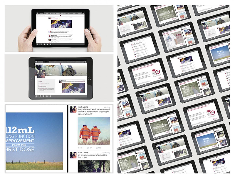 Anoro 'Social Media' digital sales aid Thumbnail