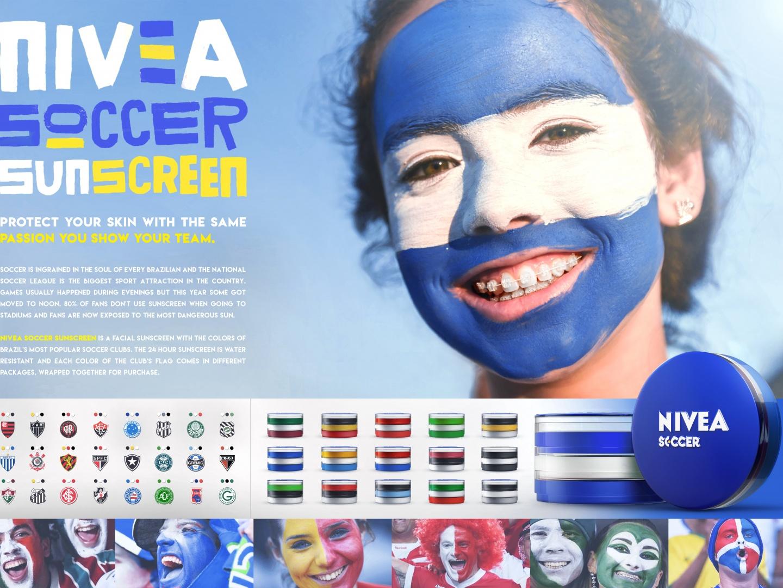 Nivea Soccer Sunscreen Thumbnail