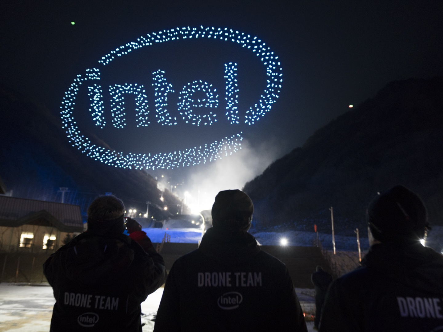 Intel Drone Light Show at The Olympics Thumbnail