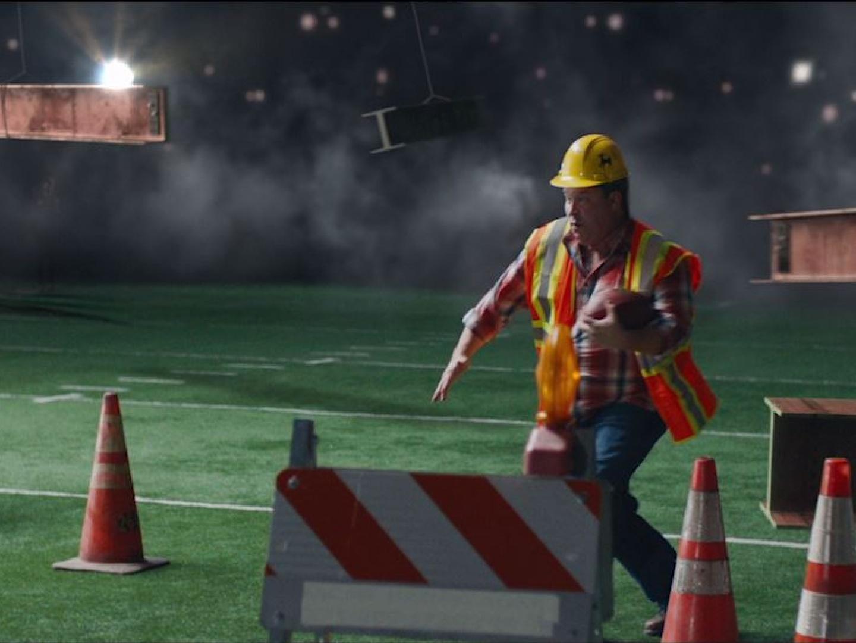 ESPN - Monday Night Football 'Construction Worker'  Thumbnail