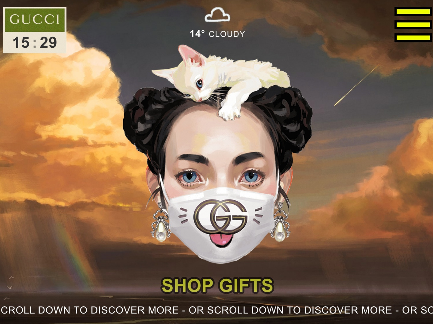 GUCCI GIFT DIGITAL ACTIVATIONS  Thumbnail