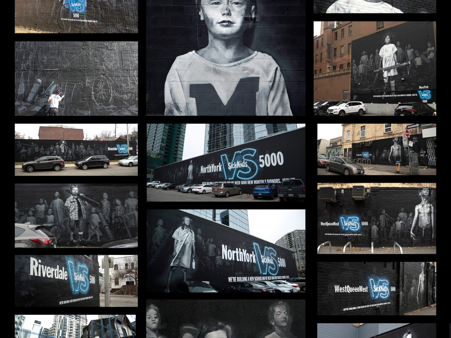 Image for SickKids VS - All In - Mural Takeover