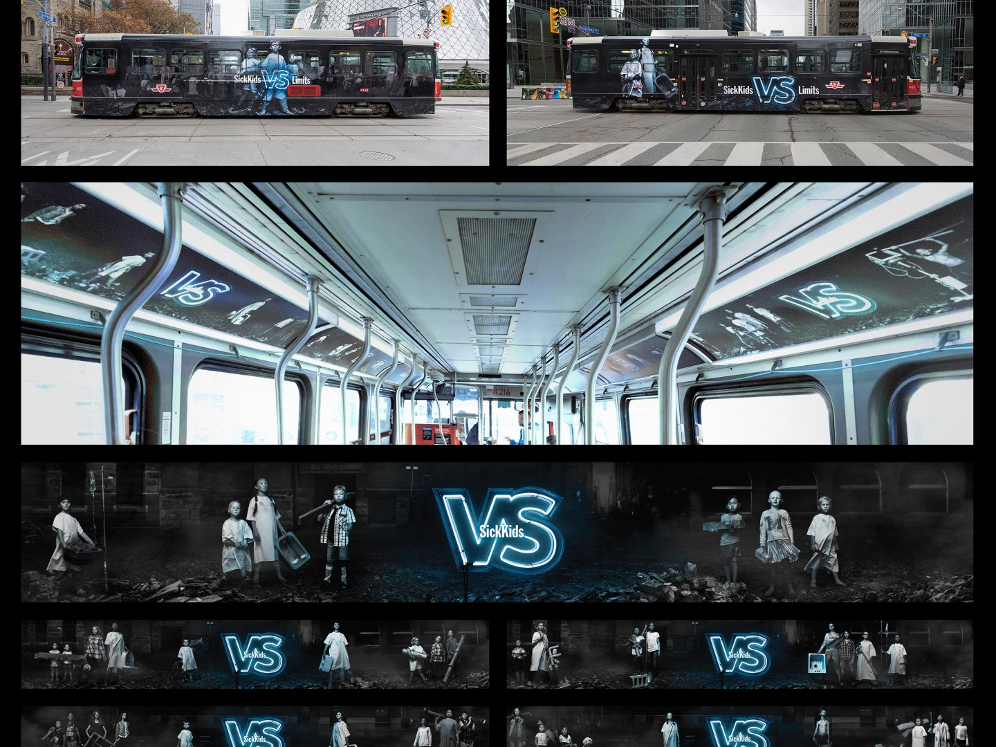 Image for SickKids VS - All In - Transit Takeover