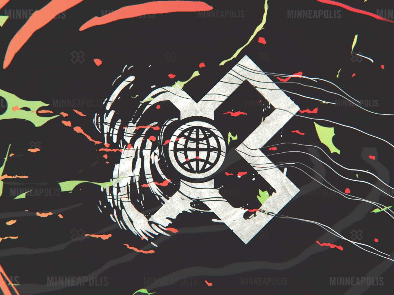 ESPN X Games Design Rebrand Thumbnail
