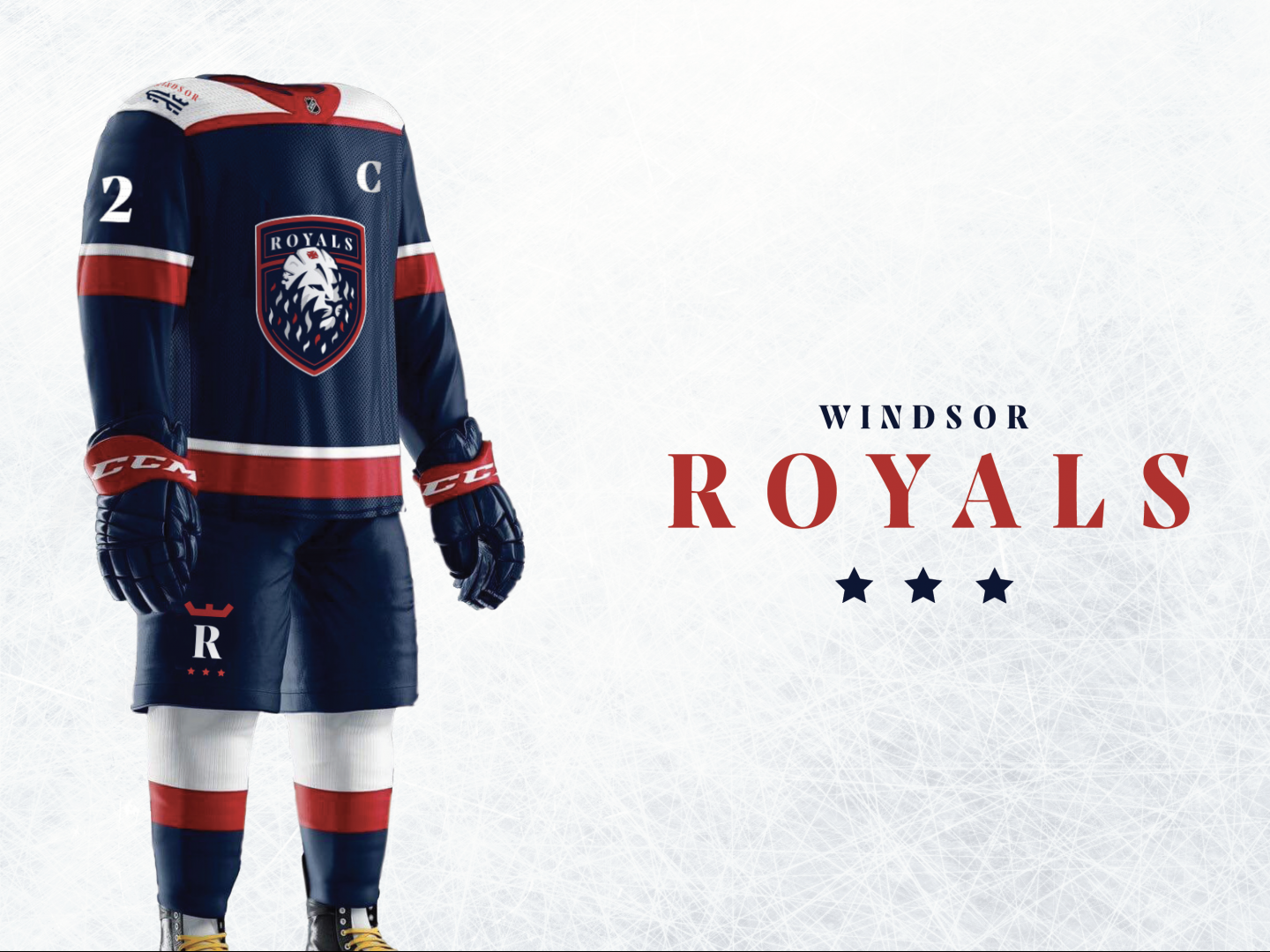 Windsor Royals Branding Thumbnail