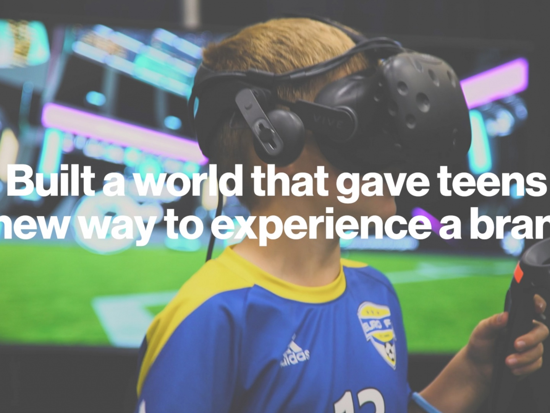 VR Soccer Challenge Thumbnail