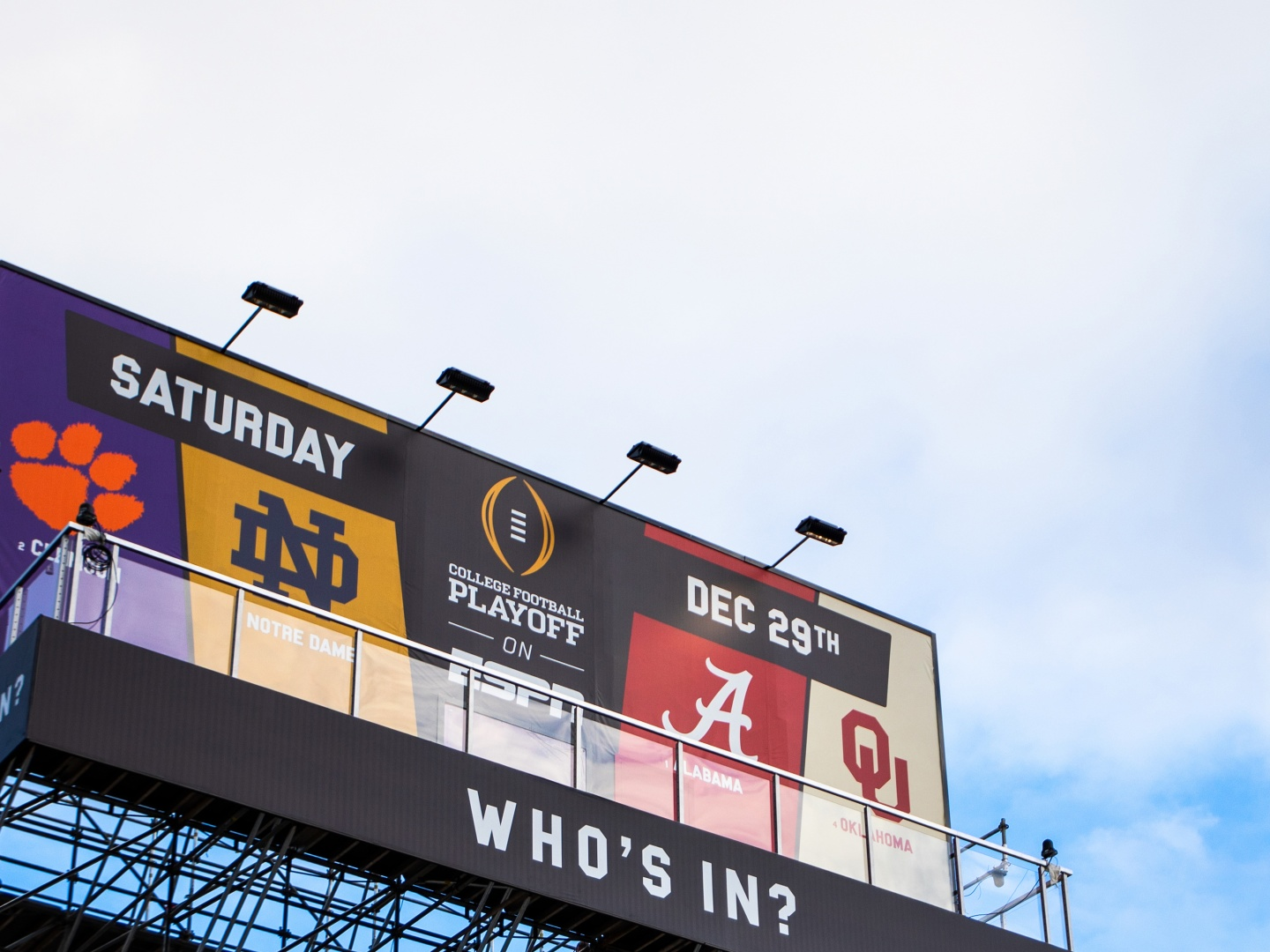 College Football Playoff Billboard Thumbnail