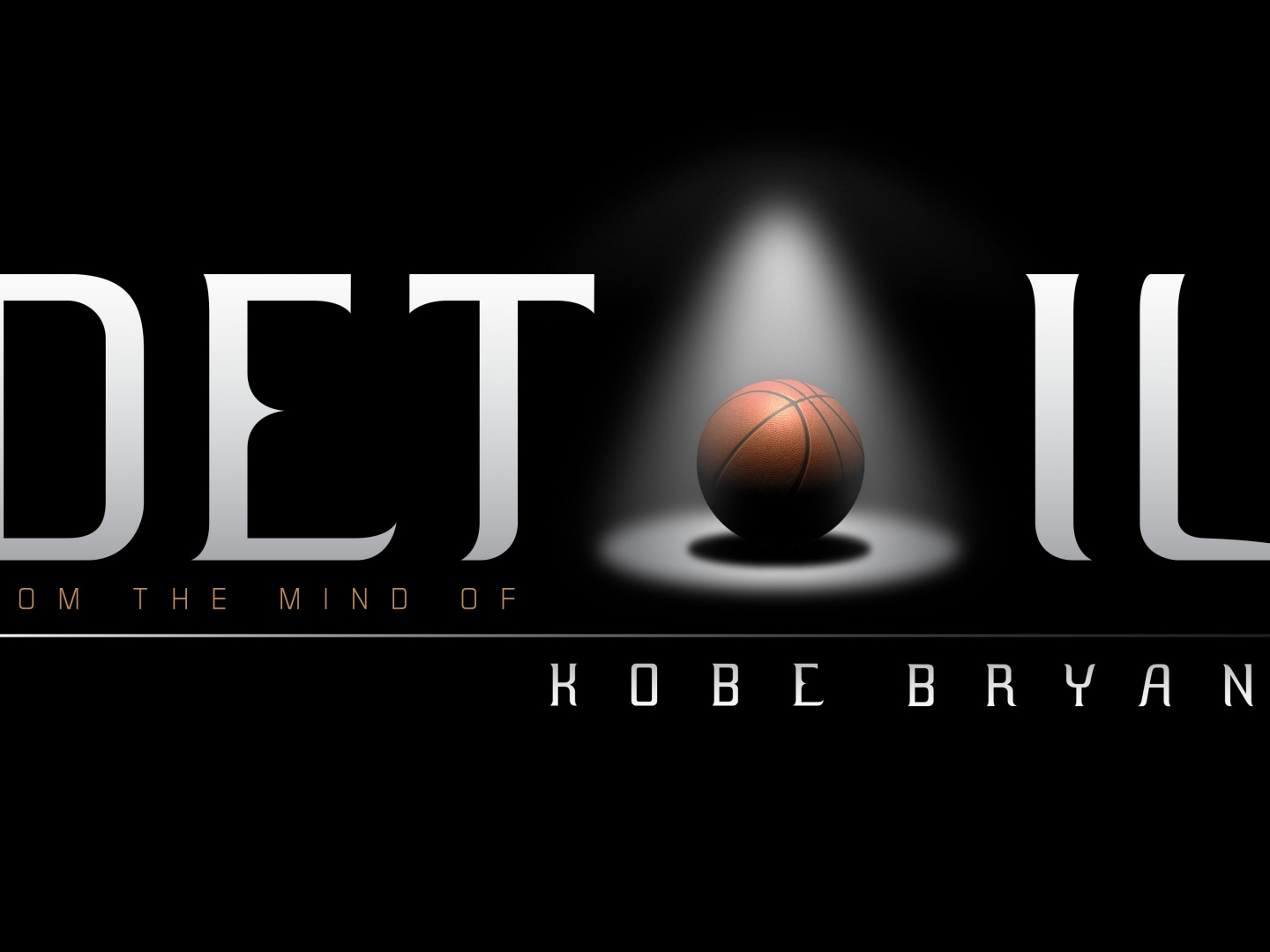 Detail - From the Mind of Kobe Bryant Thumbnail