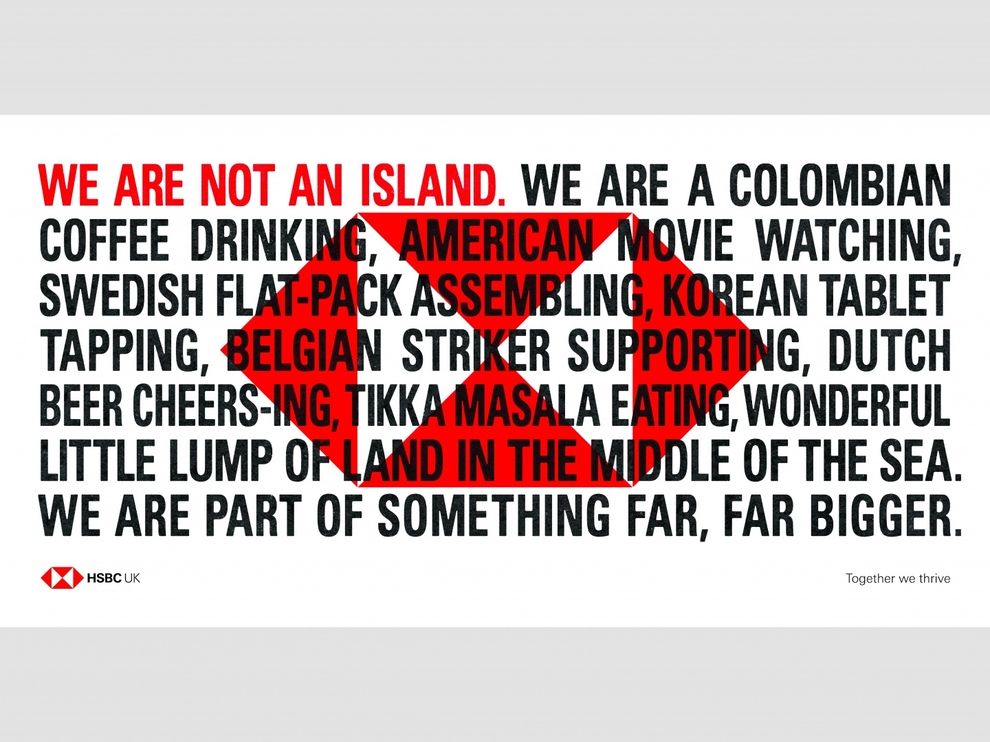 We are not an Island  Thumbnail