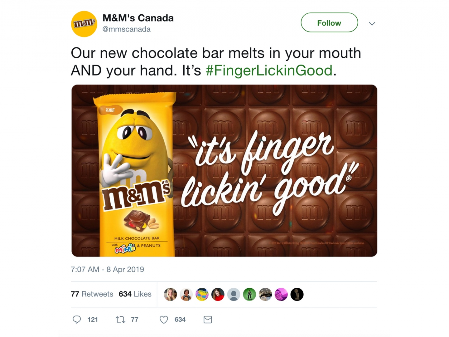 M&M's Finger Lickin' Good Thumbnail