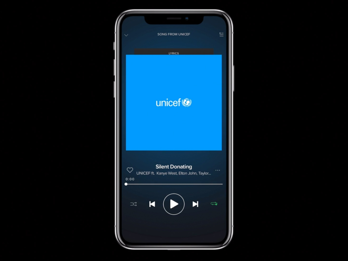 Unicef - Silent Donating Thumbnail