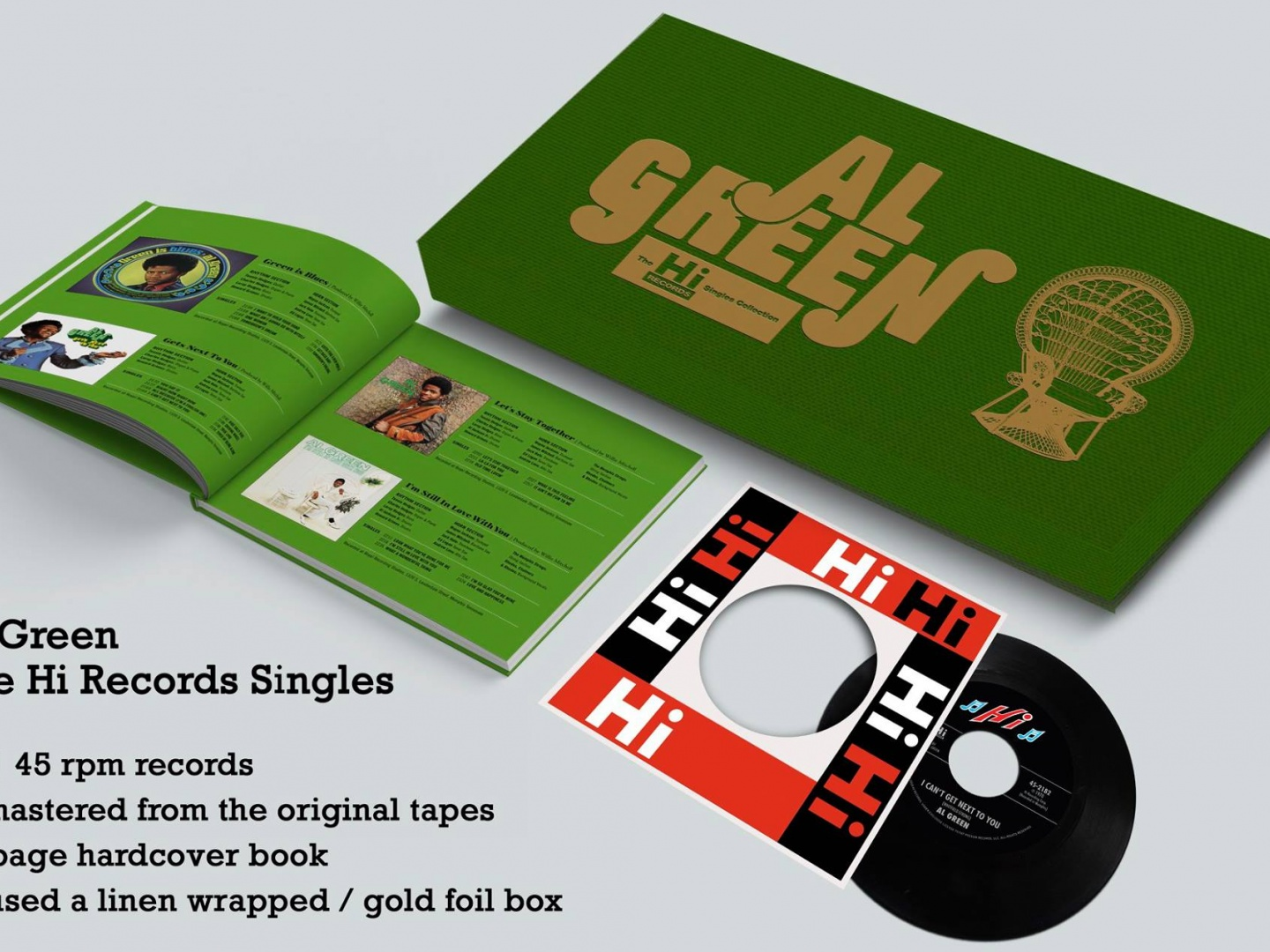 Al Green's Exclusive Record Store Day Box Set Thumbnail