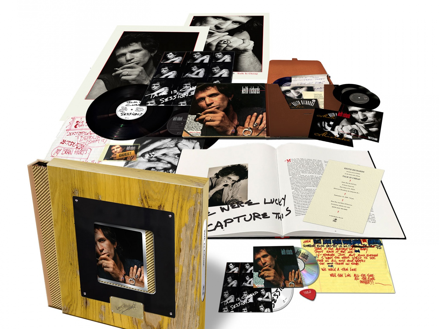 Keith Richards - Talk Is Cheap - 30th Anniversary Deluxe Box Set Thumbnail