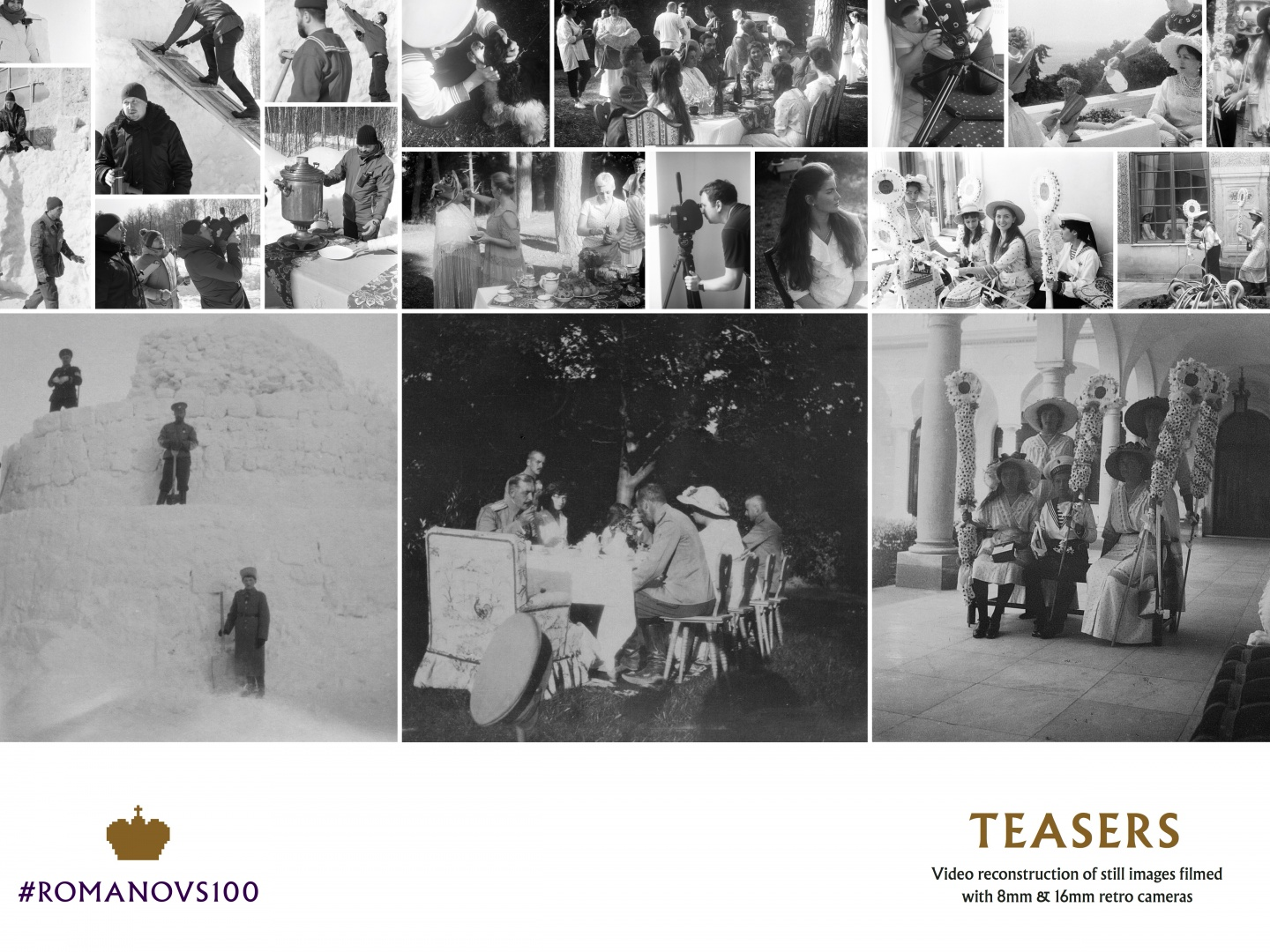 #Romanovs100: 4,000 photos. 4 social networks. 1 family. Thumbnail